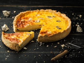 Киш quattro formaggi
