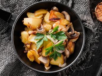 Homemade potatoes
