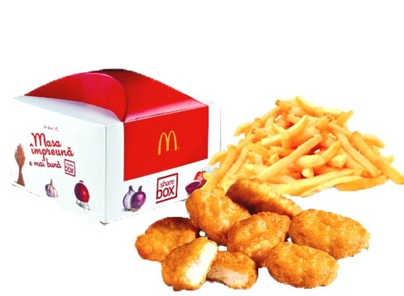 Share Box with McNuggets