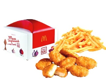 Share Box cu McNuggets