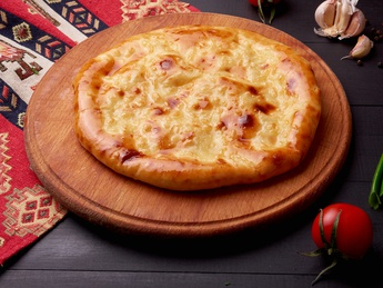Khachapuri with cheese