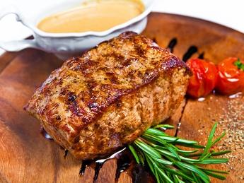 Steak de vită (greutate brută)
