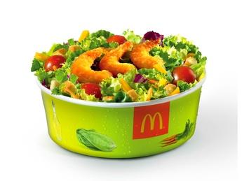 Salată cu crevete