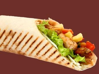 Döner chicken kebab
