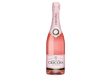 Розовое полусладкое Cricova