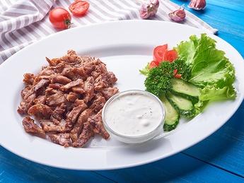 Carniță de porc în stil grecesc