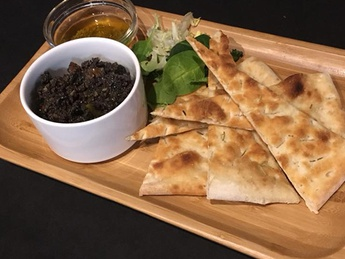 Tapenad with Focaccia