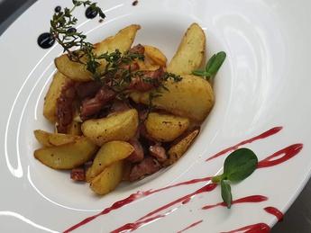 Картофель жареный по домашнему
