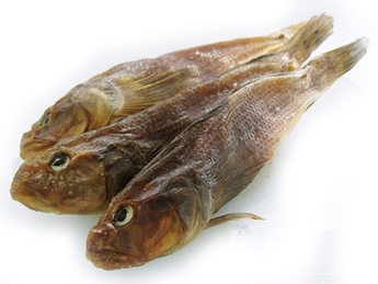 Cured goby (weight product)