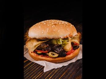 Veal Cheeks burger