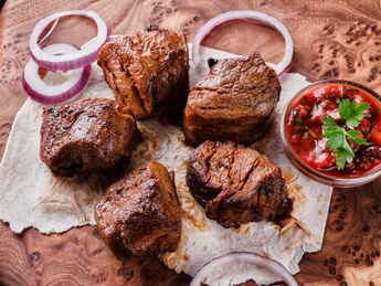 Veal barbecue