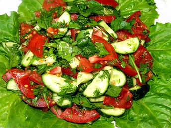 Vegetable salad (weight product)