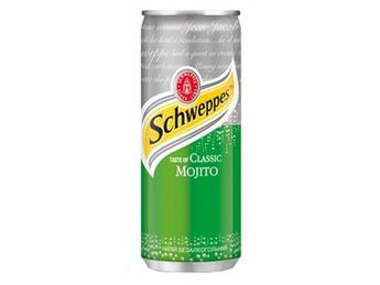 Schweppes mojito 0,33 l