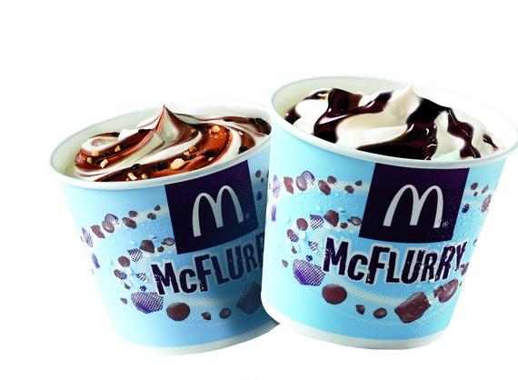 McFlurry Kit Kat with chocolate