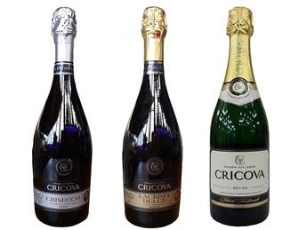 Игристые вина Cricova