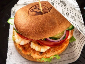 Marine burger