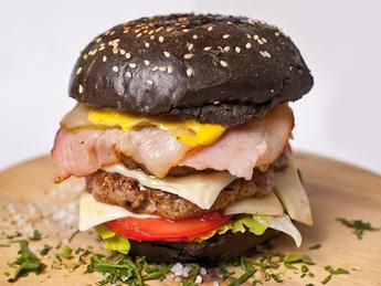 Double Black Burger