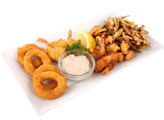 Seafood beer fries