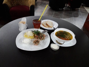 Business lunch - Monday