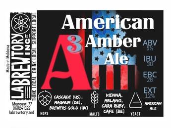A3 American Amber Ale