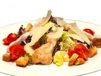 """Salad """"Caesar"""" with chicken"""