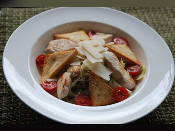 "Salad ""Caesar"" with chicken"
