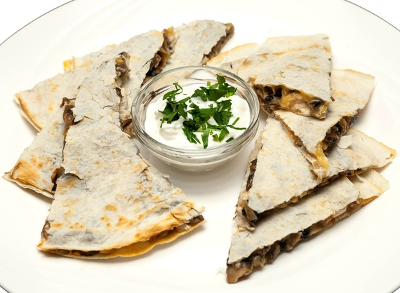 Quesadilla with chicken