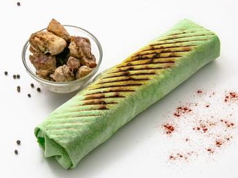 Double meat Caesar Kebab