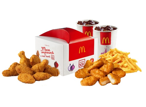Share Box 8 McNuggets