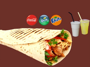 Meniu Combo Chicken Wrap