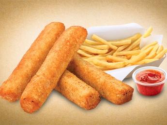Наггетсы с картофелем фри