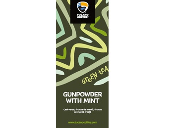 Gunpowder with mint