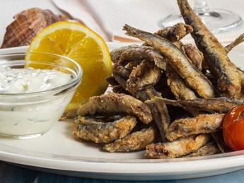 Fried sardine