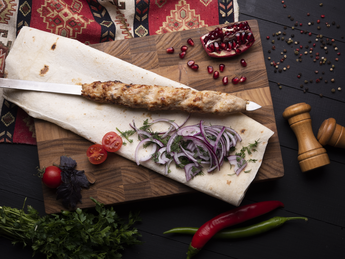 Lula kebab veal (raw weight)