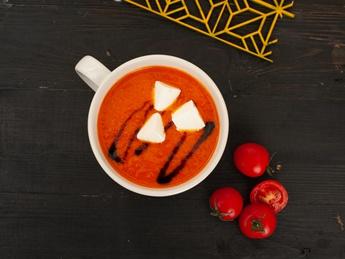 Томатный суп-крем