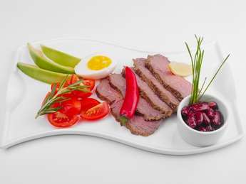 Appetizer with roastbeef