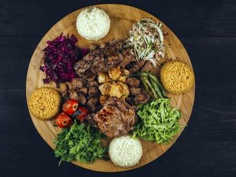 Grilled set Ottoman