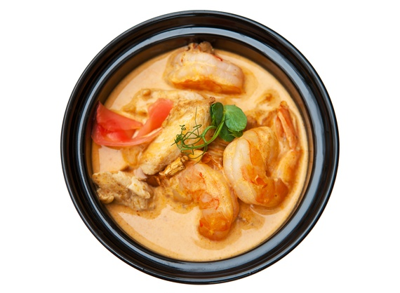 Острый тайский суп