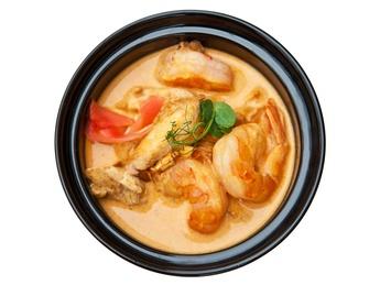 Supă thailandeză iute