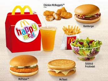 Happy Meal с McToast