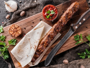 Kebab de vită