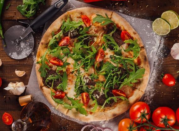 Пицца con vitelo