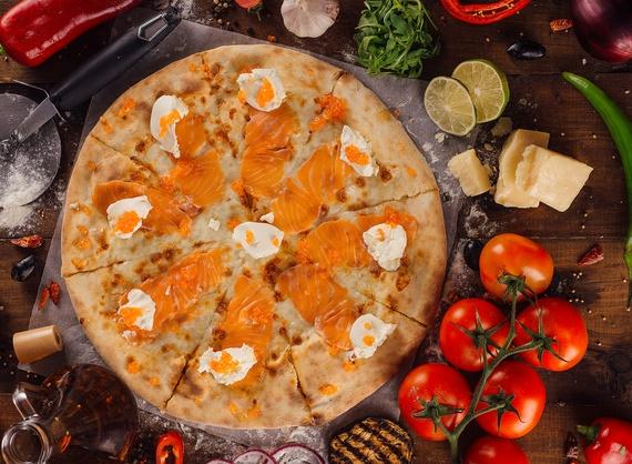 Пицца Somon fume