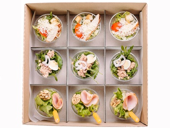 Chef's salad smart Box