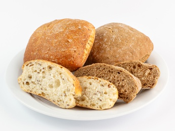 Ciabatta with flax seeds