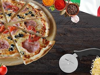 Пицца с ветчиной и артишоками