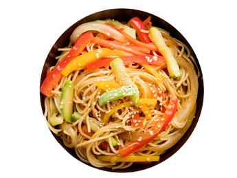 Yakisoba with vegetables