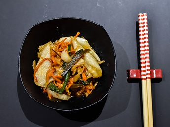 Kimuchi with cabbage