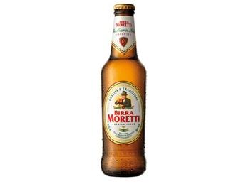 Birra Moretti nonalcoholic