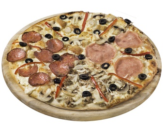 Pizza Quatro Stagioni small